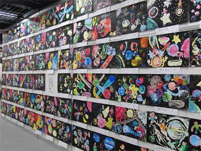 こどもスペースアート展2017作品募集画像
