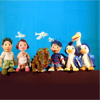 夏・劇!すばる演劇フェスティバル2012 人形劇団クラルテ「おーいペンギンさーん」画像