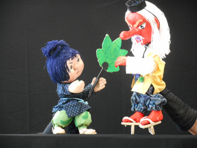 人形劇団Zooっと『どうぞのいす』『天狗のはうちわ』①画像