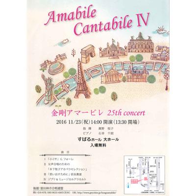 """女声コーラス""""金剛アマービレ""""25th concert(すばるホール芸術文化助成事業)画像"""