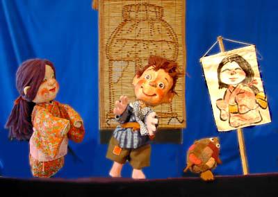 人形劇団クラルテ『絵姿にょうぼう』『トウモロコシはだれのもの』画像