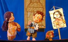 人形劇団クラルテ『絵姿にょうぼう』『トウモロコシはだれのもの』
