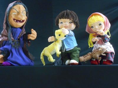 人形劇団Zooっと「おかしのいえ/おむすびころりん」画像