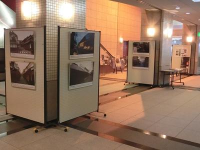 伝統的建造物群保存地区 町並みパネル展示画像