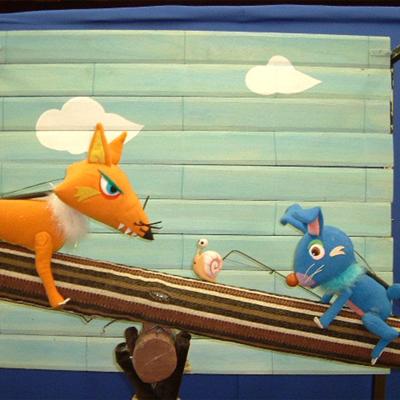 夏・劇!すばる演劇フェスティバル2018 人形劇団クラルテ ファミリー向け人形劇『ゆらゆらばしのうえで』『どうして、ぞうさんのはなはながいの?』画像
