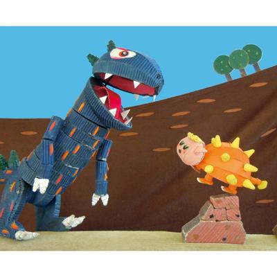 夏・劇!すばる演劇フェスティバル2019 人形劇団クラルテ ファミリー向け人形劇『へびくんのおさんぽ』『おまえうまそうだな』画像