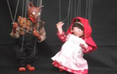 クリオネ(マリオネット)「赤ずきんちゃん」「楽しいおさんぽ」
