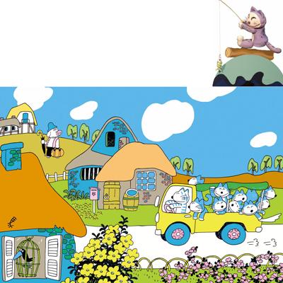 人形劇団クラルテ第119回公演こどもの劇場『11ぴきのねことぶた』画像