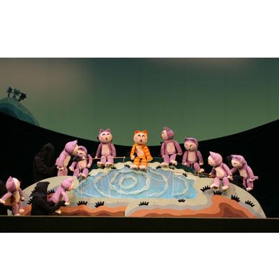人形劇団クラルテ 第97回公演こどもの劇場 『11ぴきのねこ ふくろのなか』画像